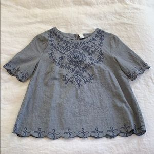Old Navy Embroidered Shirt